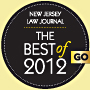 Image: Logo �New Jersey Law Journal� Best of 2012